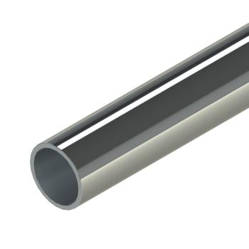 RVS 201 buis, 27,6x2,0mm, L=4m