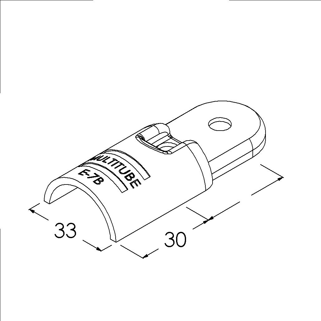 e7bbk buisverbinder hoekstuk 0180 binnendeel