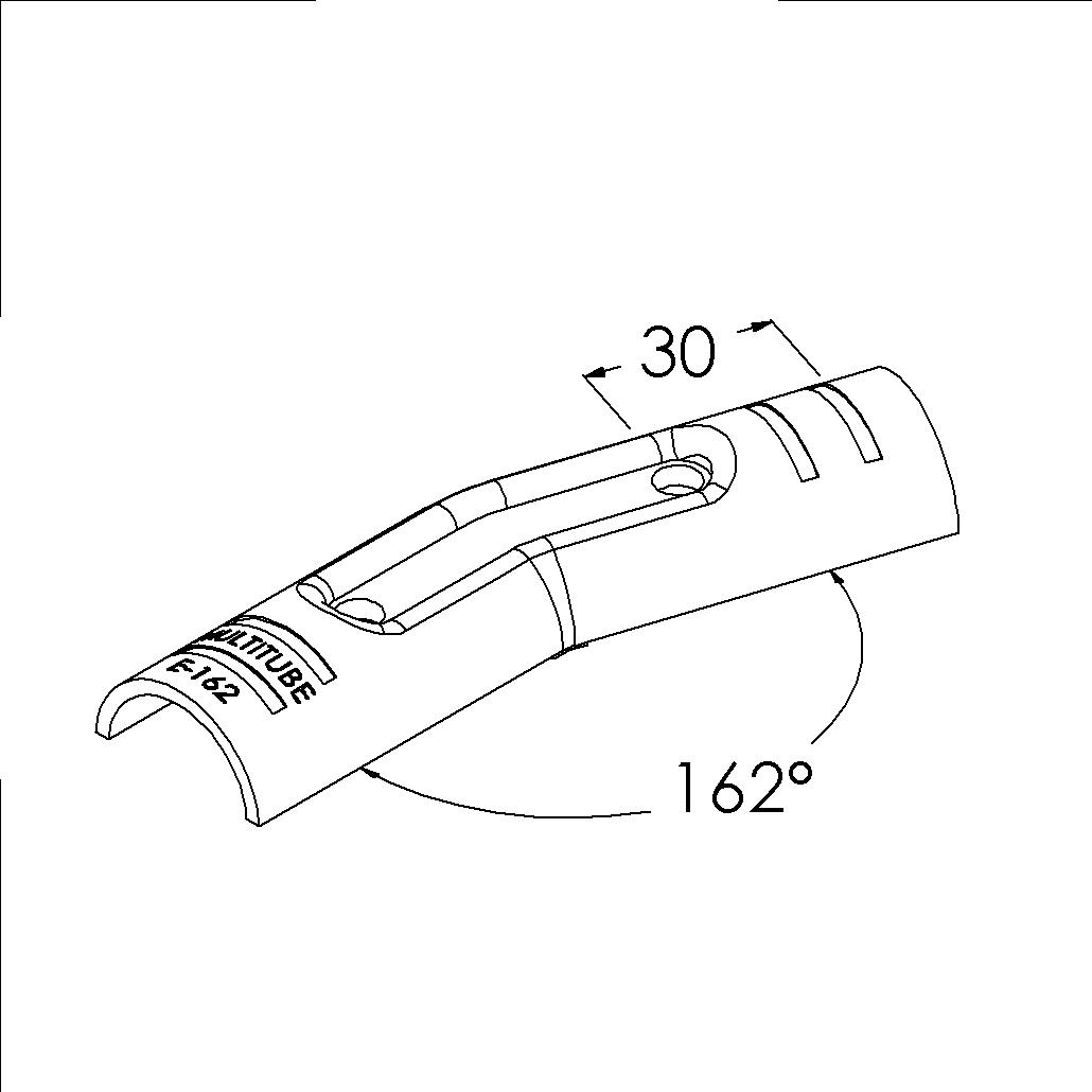 e162bk buisverbinder hoekstuk 162