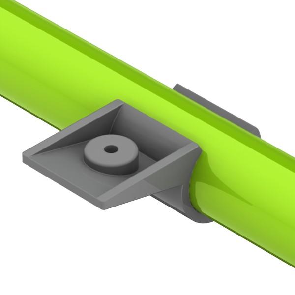 kb2 kunststof buisverbinder plaatmontage verdiept
