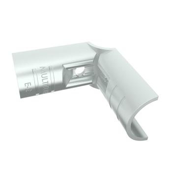 E-2-SV, buisverbinder, hoekstuk 90°, binnendeel