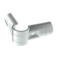 E-3-SV, buisverbinder, hoekstuk 90°, buitendeel