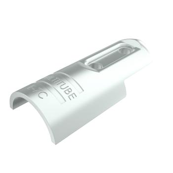 E-7C-SV, buisverbinder, hoekstuk 0-180°, buitendeel