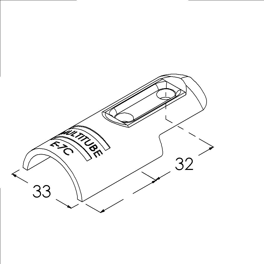 e7csv buisverbinder hoekstuk 0180 buitendeel