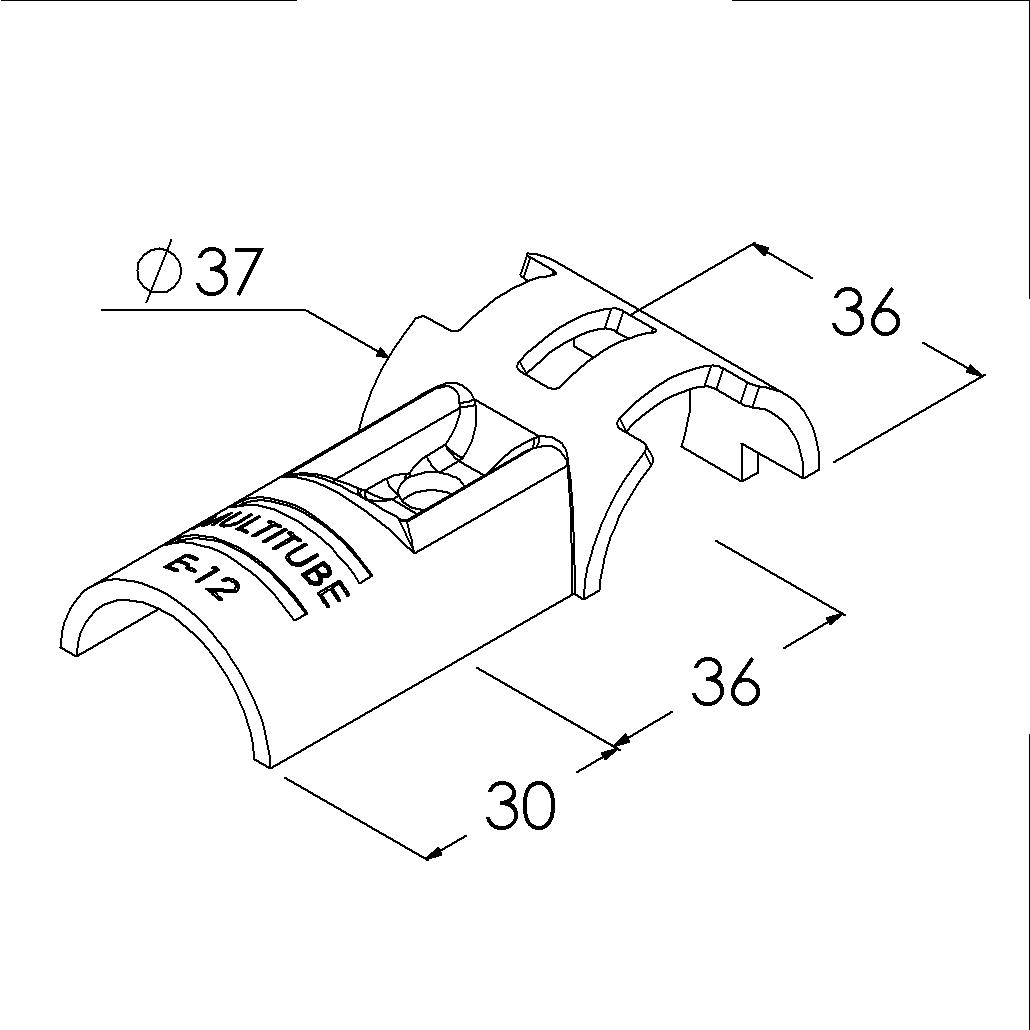 e12sv buisverbinder tstuk 90 draaibaar