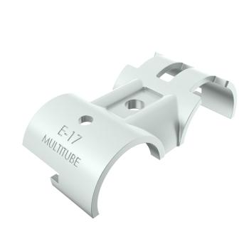 E-17-SV, buisverbinder, parallelstuk, eenzijdig draaibaar