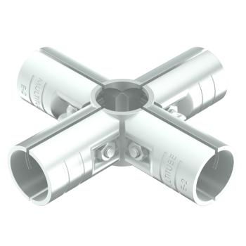 ES-5-SV, buiskoppeling, kruis, 5-weg