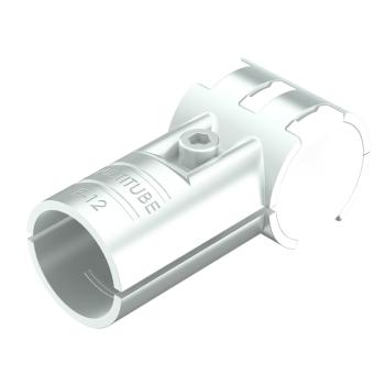 ES-12-SV, buiskoppeling, T-stuk 90°, draaibaar