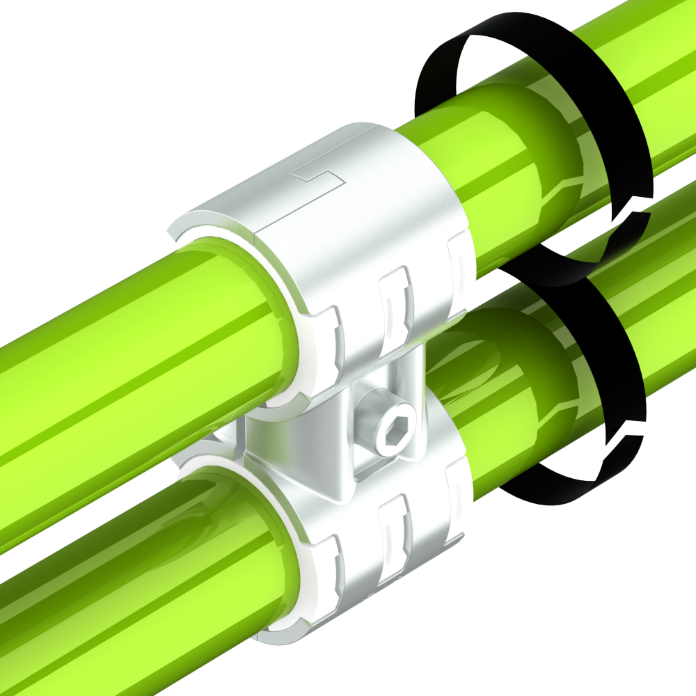 es18sv buiskoppeling parallel tweezijdig draaibaar