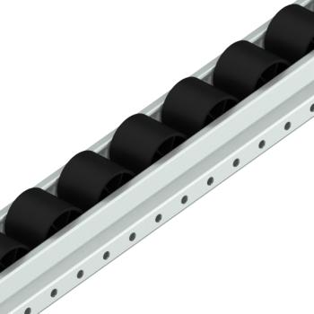 Rollenrail ESD, vlak, L=4m