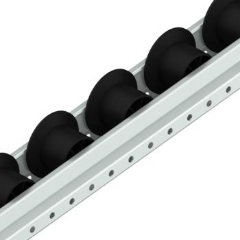 Rollenrail ESD, spoorkrans, L=4m