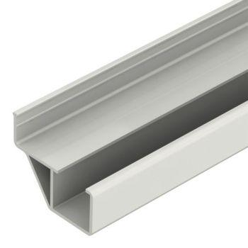 Rollenrail geleiding profiel offset, grijs, L=3m