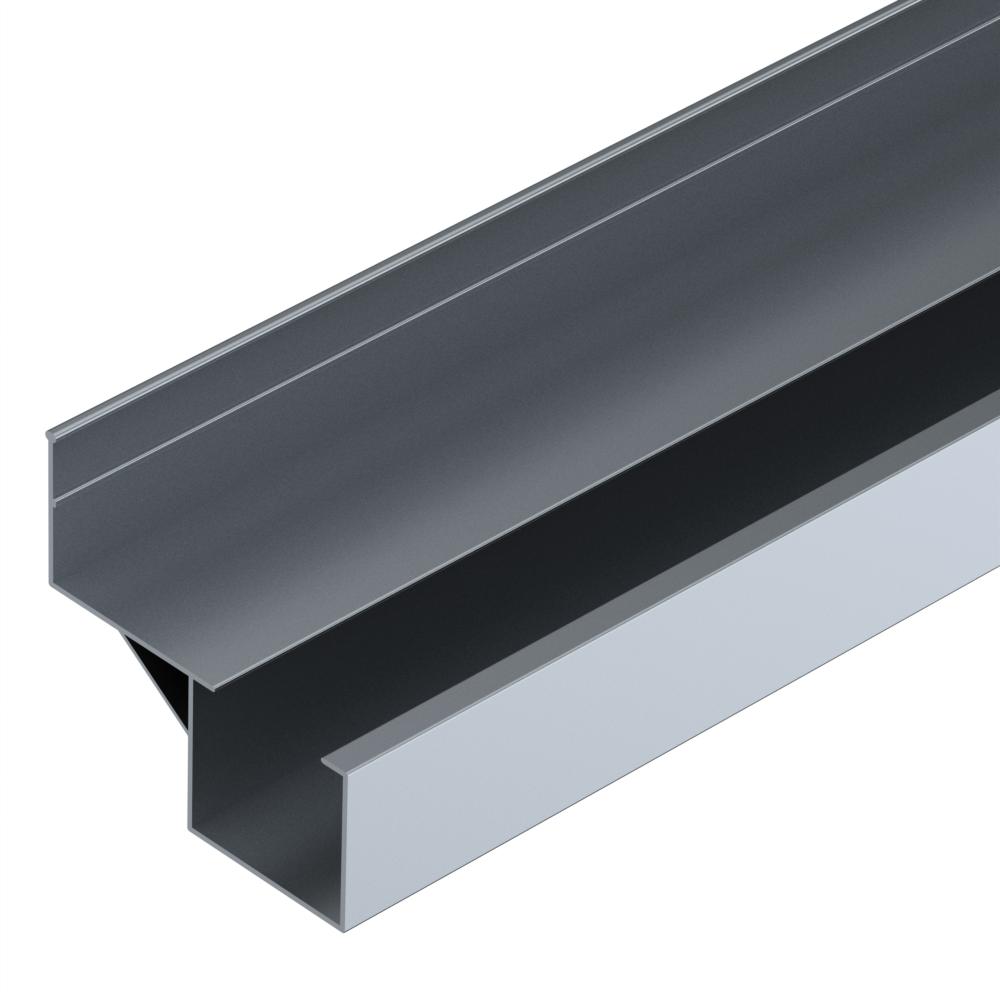 rollenrail geleiding profiel offset aluminium l4m