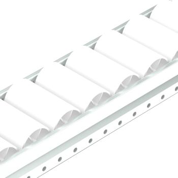Rollenrail, vlak, 80mm, L=4m