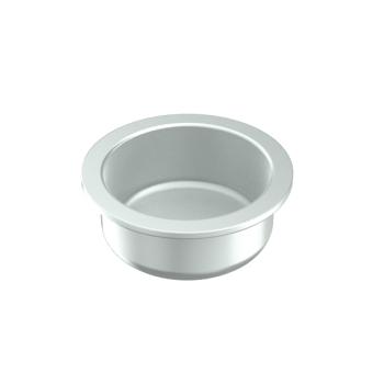Inslagdop voor pp 1 mm buis, staal