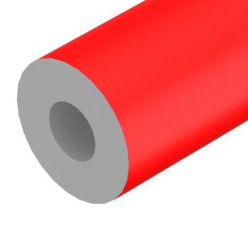 Foam, rood, ø=70mm, L=2m