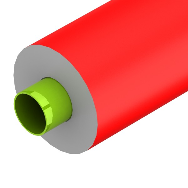foam rood 70mm l2m