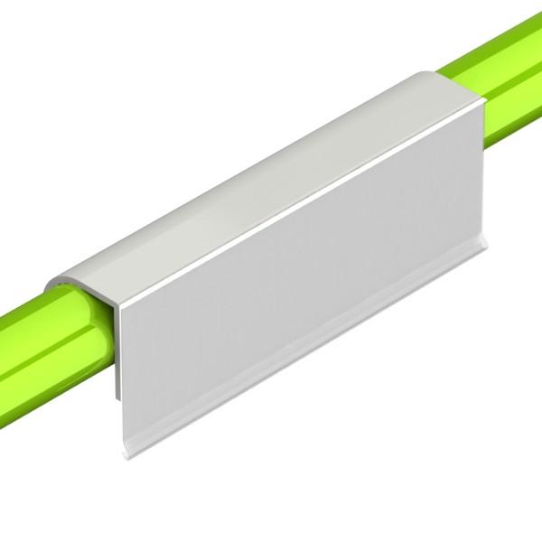 etikethouder l150mm h52mm kunststof