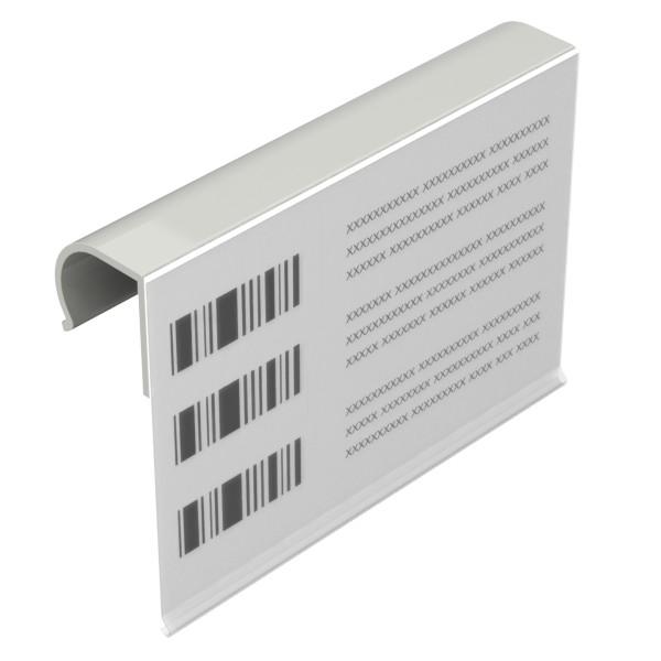 etikethouder l150mm h105mm kunststof