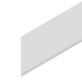 Scannerprofiel, h=105mm, wit, foamtape, L=3020mm