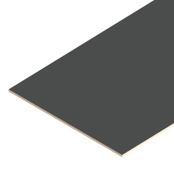 Betonplex, glad, H=18mm, grijs, volgens tekening