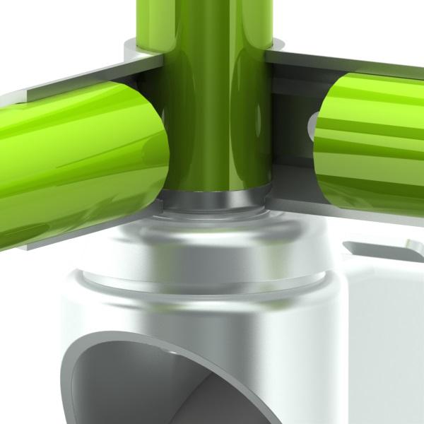 inslagmoer 1mm gecoate buis stelvz m12