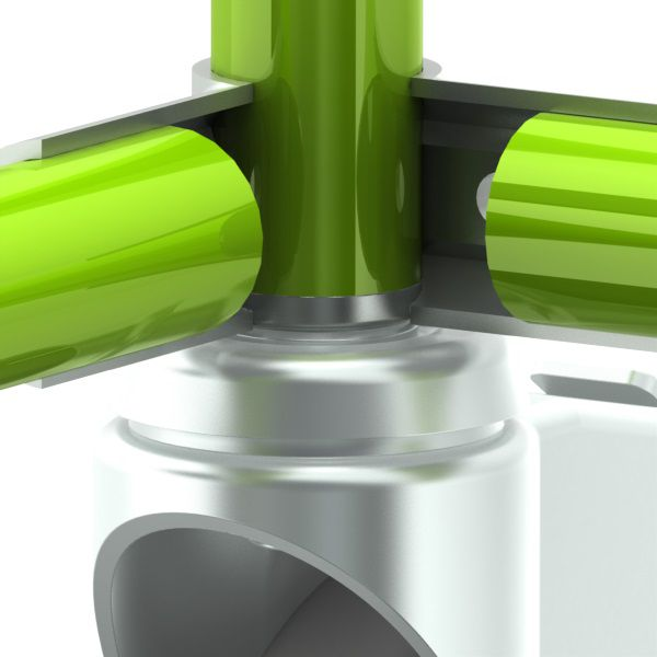 inslagmoer 2mm gecoate buis stelvz m12