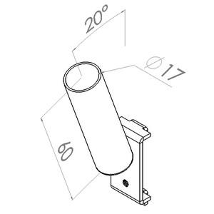 gereedschapshouder d17mm