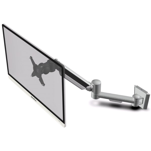 monitorarm hoogtediepteverstelling dynamisch zilver