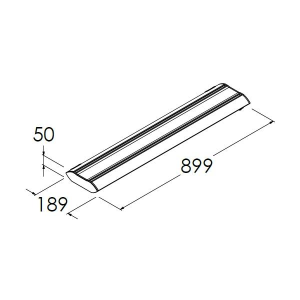 led armatuur 29w 899mm