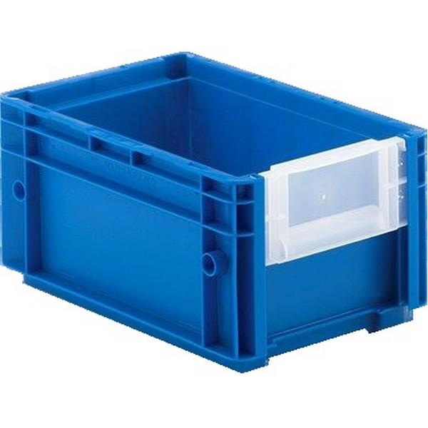 magazijnbak pp blauw 297x198x148mm