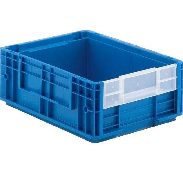 magazijnbak pp blauw 396x297x148mm