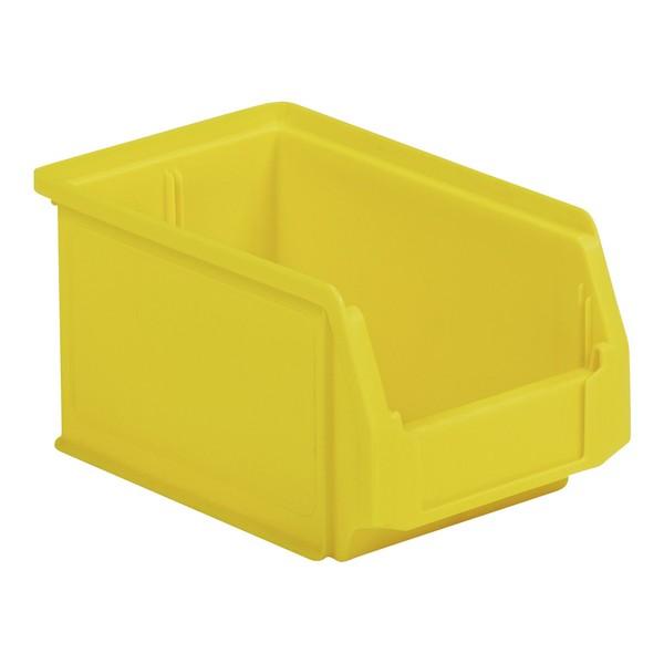 magazijnbakje pp geel 234x150x122mm