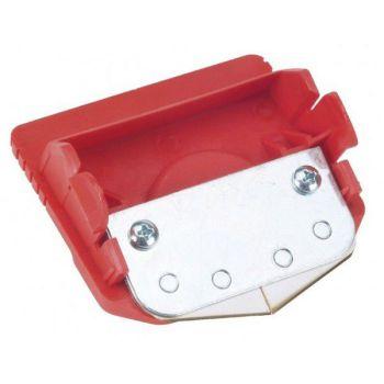 Loopwagen cassette met mes voor folie