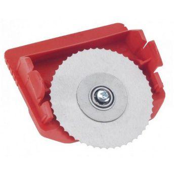 Loopwagen cassette met kartelmes voor karton