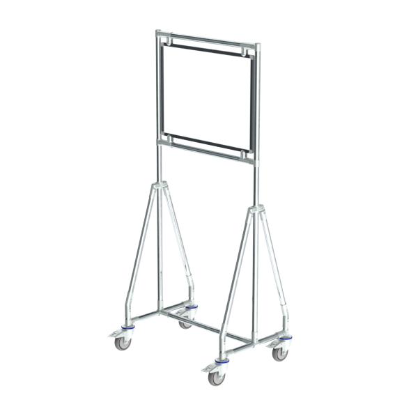 whiteboard enkelzijdig gelakt staal 45x60cm