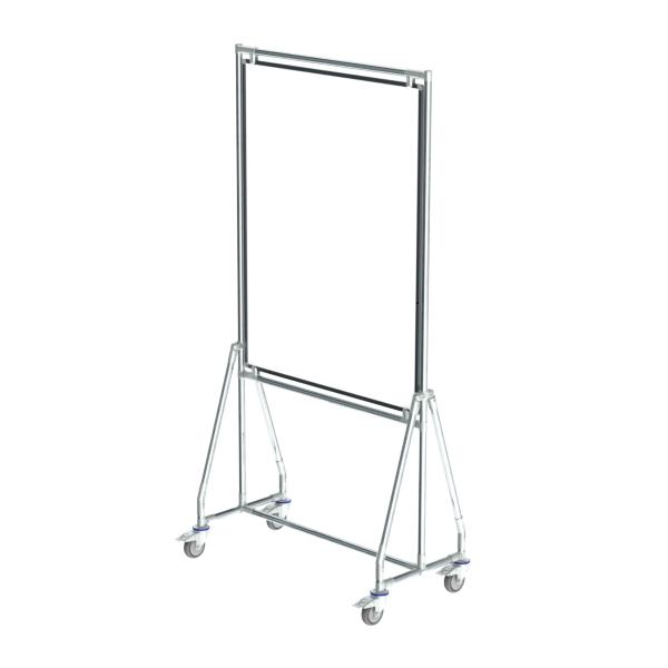 whiteboard enkelzijdig gelakt staal 90x120cm