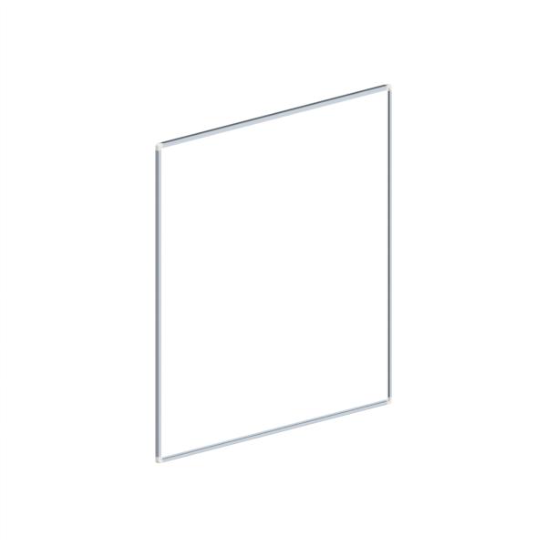 whiteboard enkelzijdig gelakt staal 100x100cm