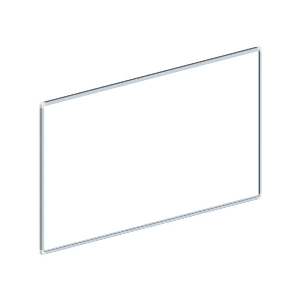 whiteboard enkelzijdig gelakt staal 60x120cm
