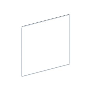 Whiteboard, enkelzijdig emaille staal, 90x120 cm