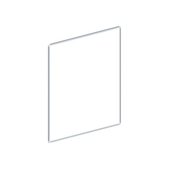 Whiteboard, enkelzijdig emaille staal, 100x100 cm