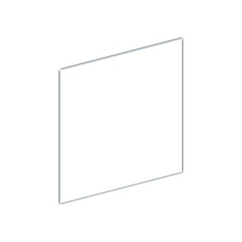 Whiteboard, enkelzijdig emaille staal, 120x150 cm