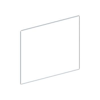 Whiteboard, enkelzijdig emaille staal, 120x180 cm