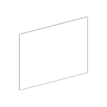 Whiteboard, enkelzijdig emaille staal, 120x200 cm