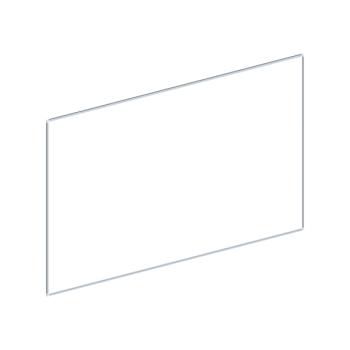 Whiteboard, enkelzijdig emaille staal, 120x240 cm