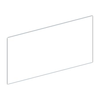 Whiteboard, enkelzijdig emaille staal, 120x300 cm
