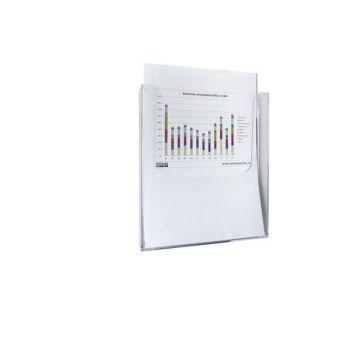 Documenthouder, A4, magnetisch, staand
