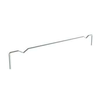 Vakverdeler voor legbord 500mm diep, verzinkt, Ø5mm
