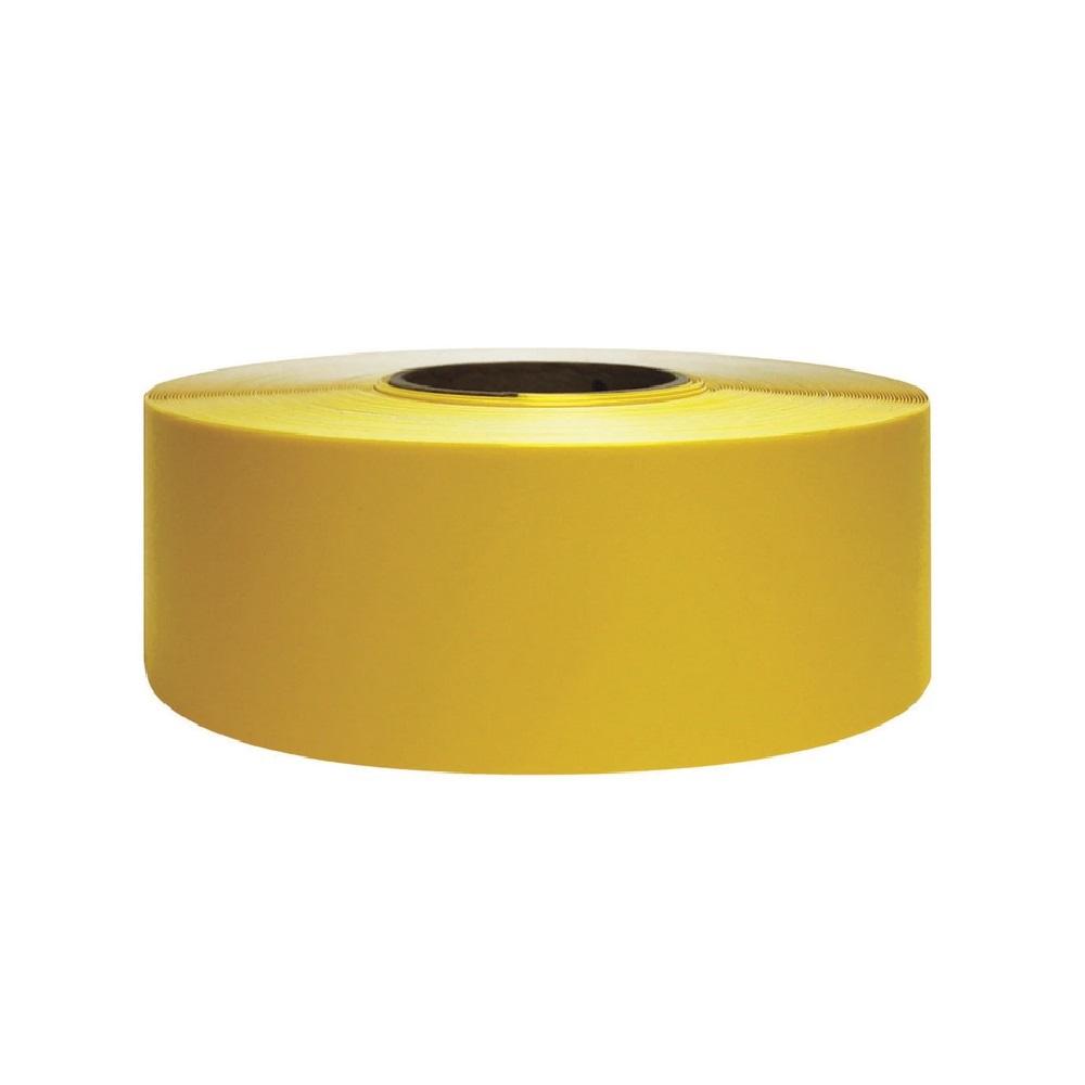 vloermarkeringstape geel 30m supreme v 5cm breed