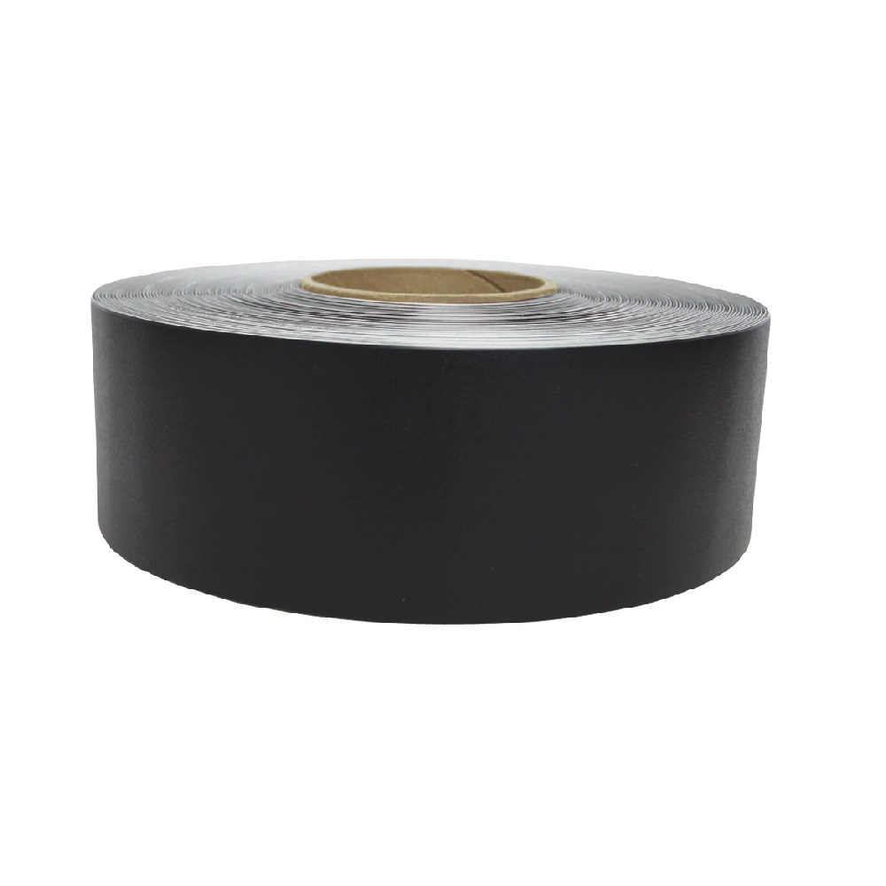 vloermarkeringstape zwart 30m supreme v 5cm breed